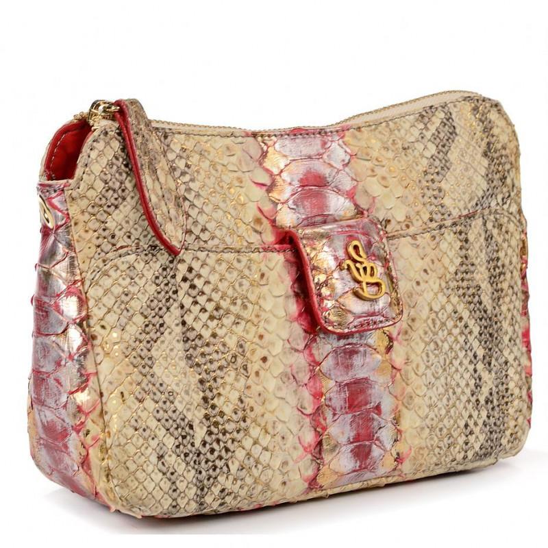 Сумка-клатч женская Silvano Biagini SB8353 rosso gea python small bag