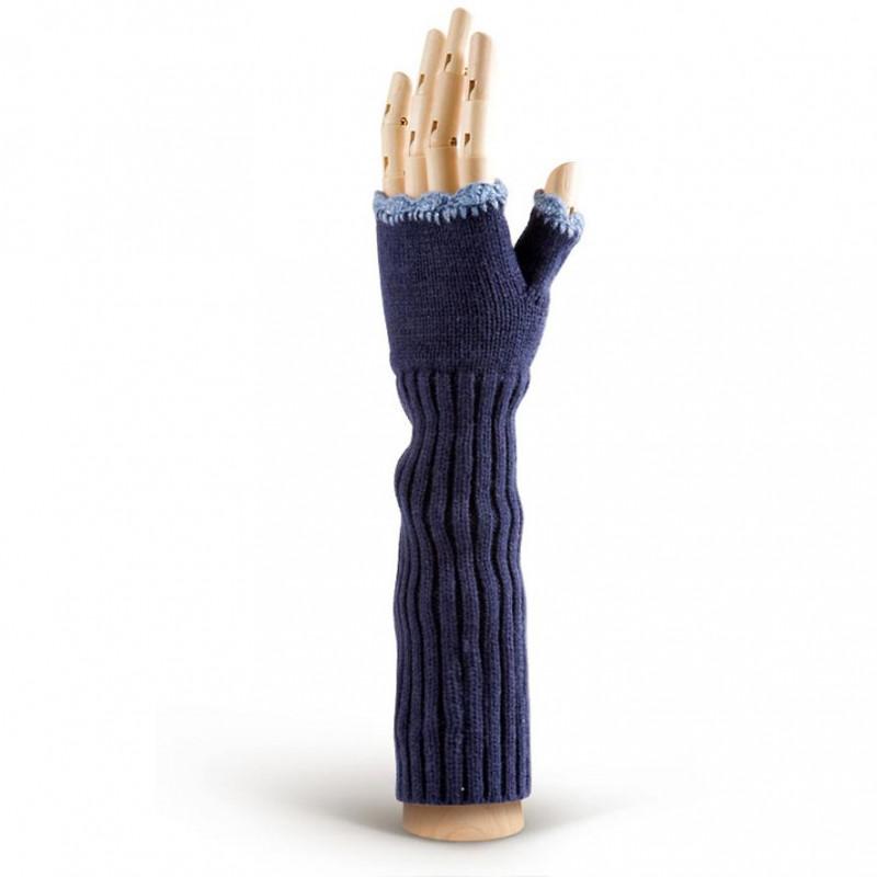 Перчатки женские Modo W91 d.blue ()