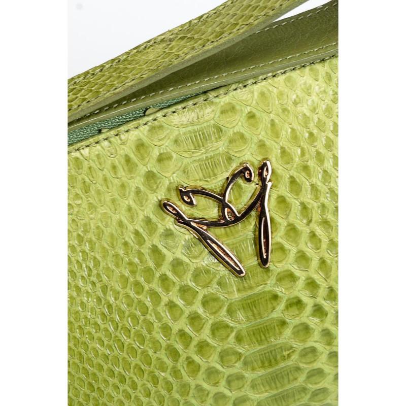 Сумка-клатч женская Ghibli GHIB4313 oliva 328 python