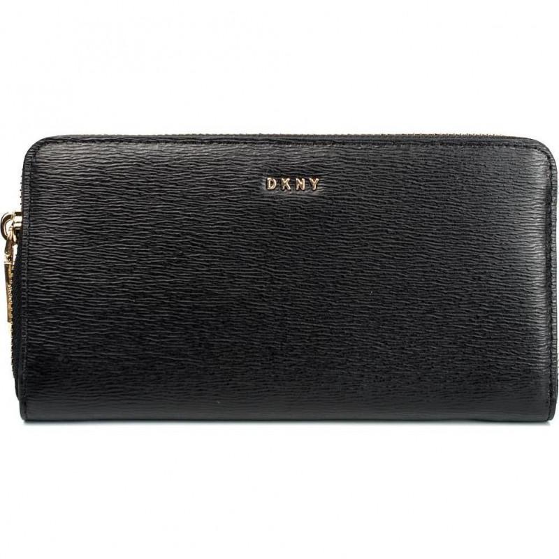 Кошелёк женский Donna Karan R3260060 black large zip around - w