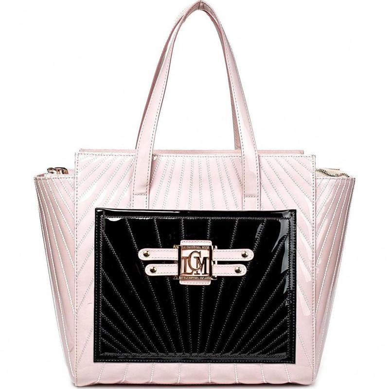 Сумка женская Valentino Orlandi VO LCM1039V pink patent leather