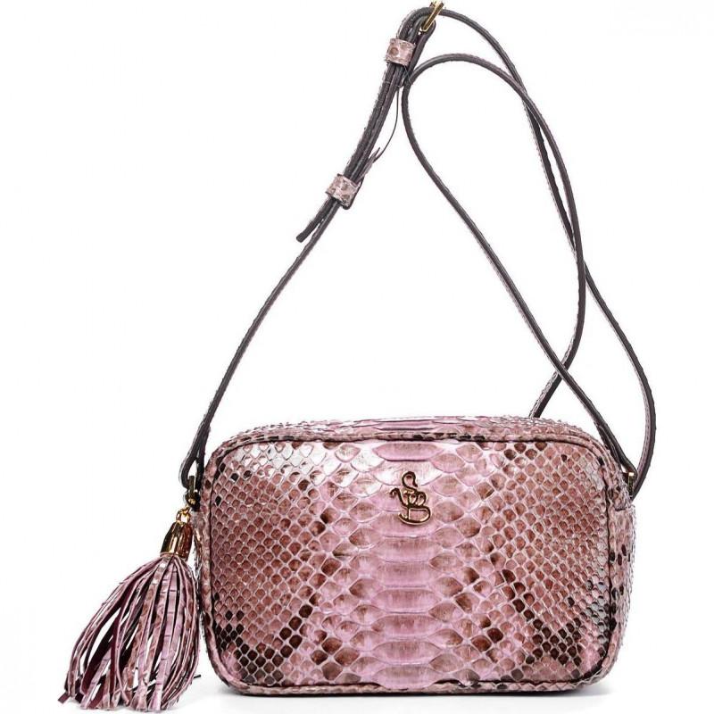 Сумка-клатч женская Silvano Biagini SB8193 prugna python bag