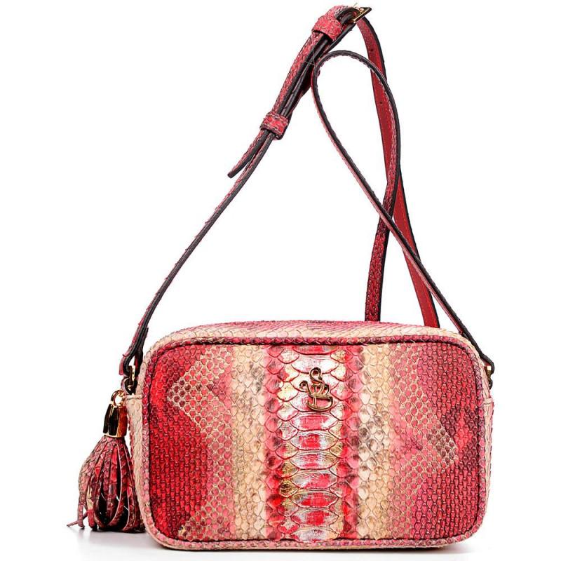Сумка-клатч женская Silvano Biagini SB8193 wine python bag