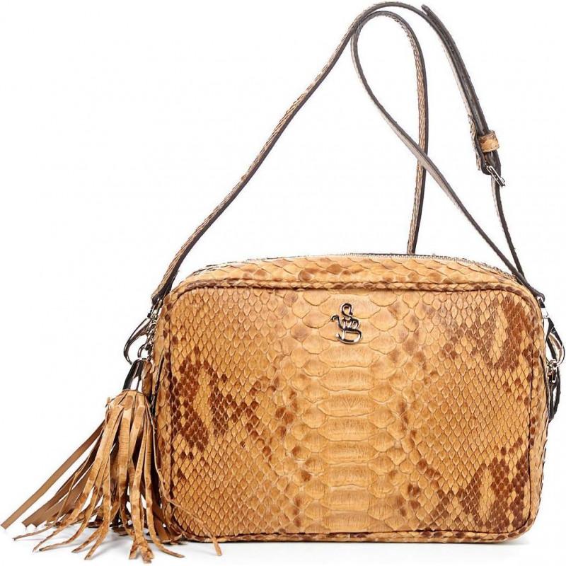 Сумка-клатч женская Silvano Biagini SB8568 beige python bag
