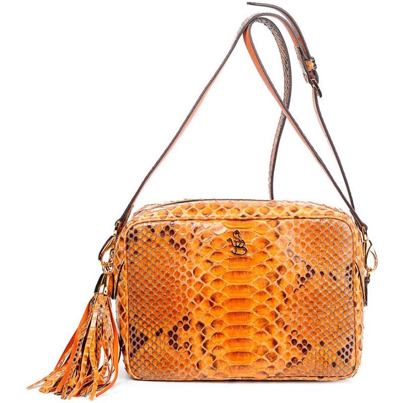 Сумка-клатч женская Silvano Biagini SB8568 bruciato python bag