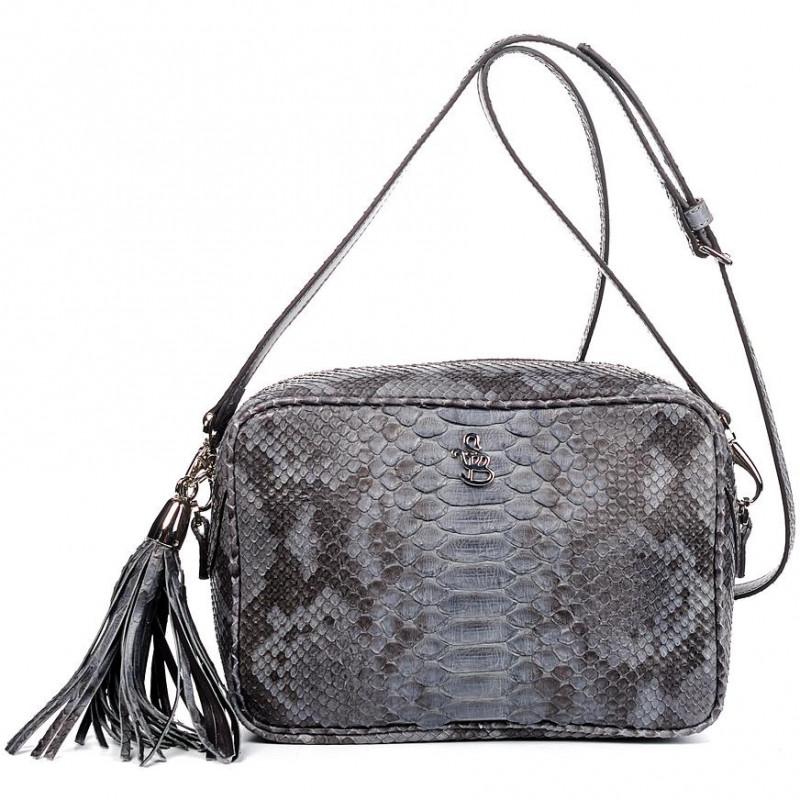 Сумка-клатч женская Silvano Biagini SB8568 cenere python bag