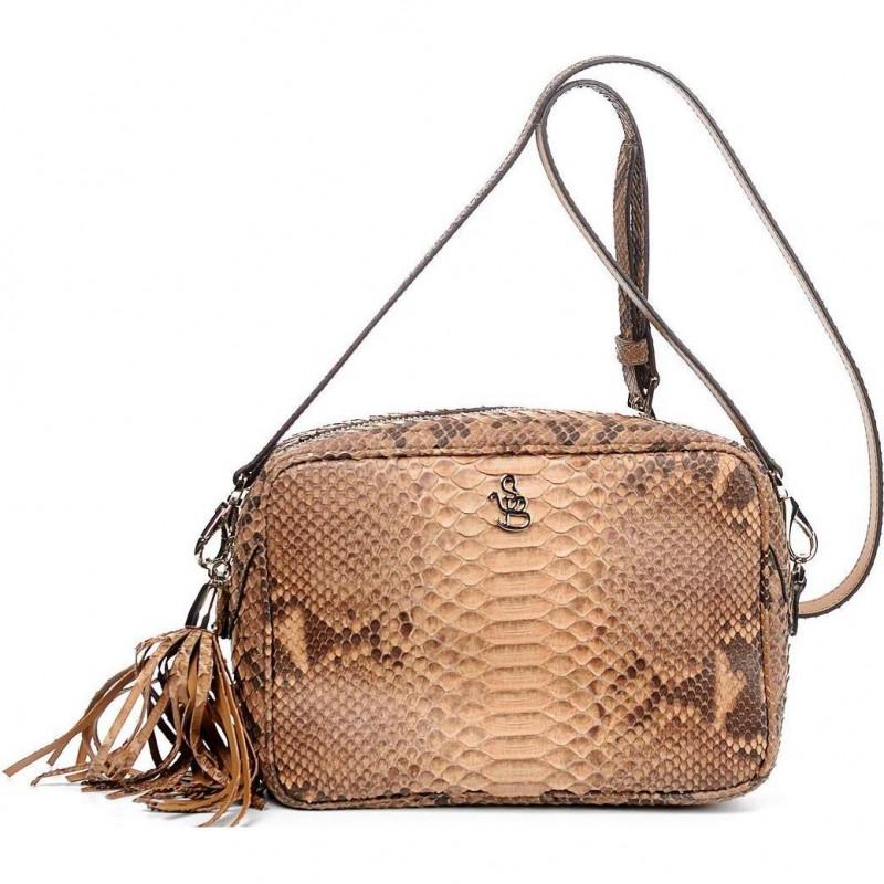 Сумка-клатч женская Silvano Biagini SB8568 cuoio python bag