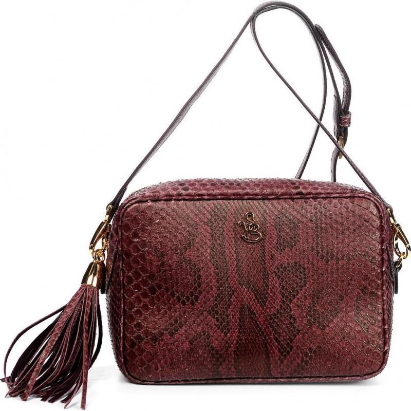 Сумка-клатч женская Silvano Biagini SB8568 magenta python bag