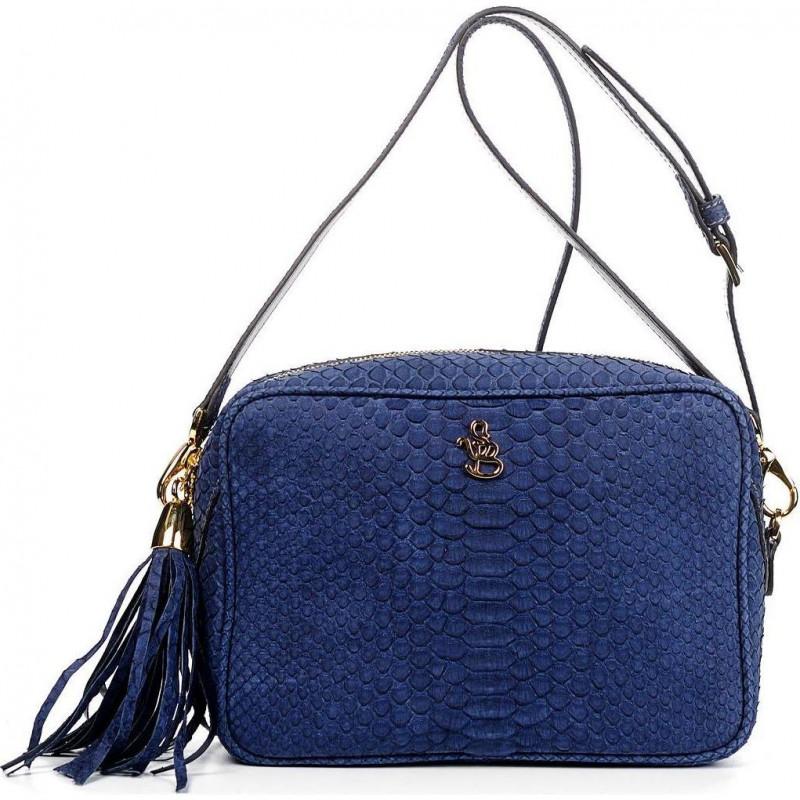 Сумка-клатч женская Silvano Biagini SB8568 navy python bag