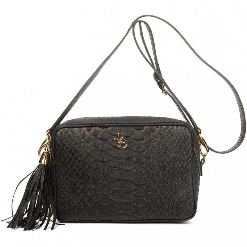 Сумка-клатч женская Silvano Biagini SB8568 nero python bag