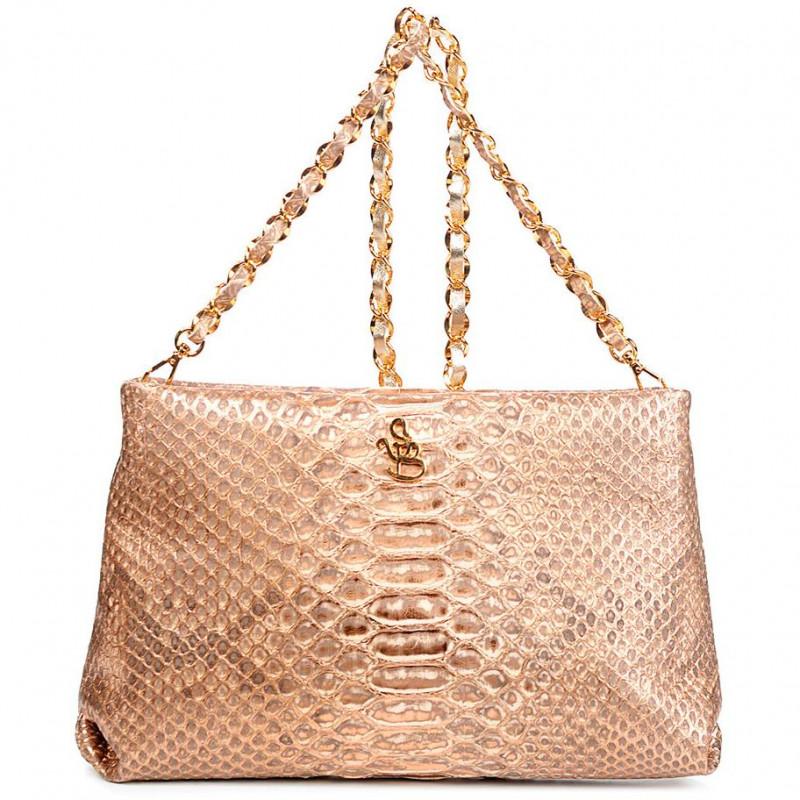 Сумка-клатч женская Silvano Biagini SB8741 bronzo python bag