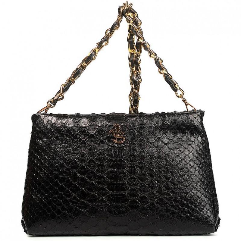 Сумка-клатч женская Silvano Biagini SB8741 nero python bag