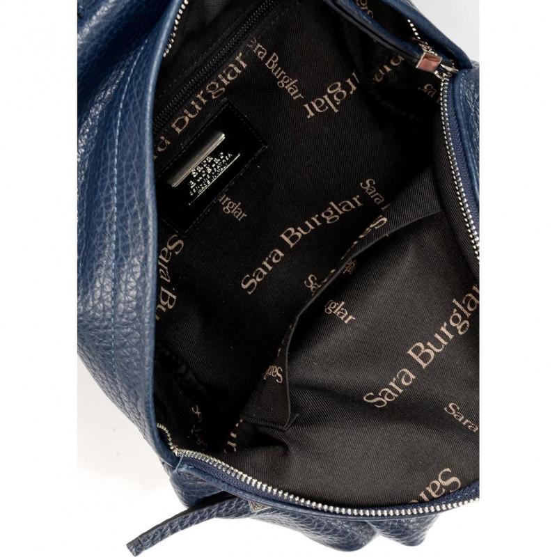 Сумка-рюкзак женская Sara Burglar A0W8Q550 blu cherie qerida(t.laccio