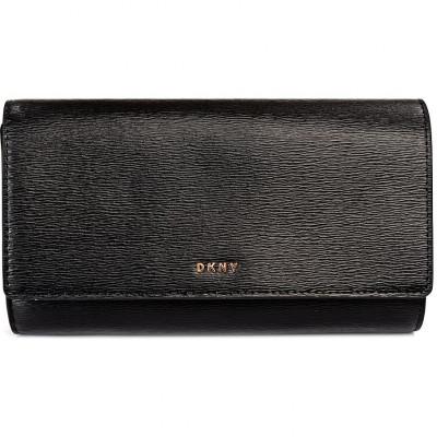 Кошелёк женский Donna Karan R8353622 blk/gold bryant-wallet on a s