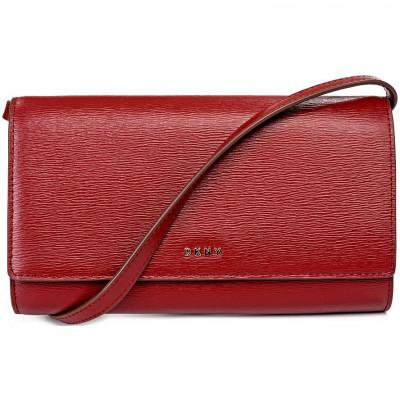 Кошелёк женский Donna Karan R8353622 blood red bryant-wallet on a s