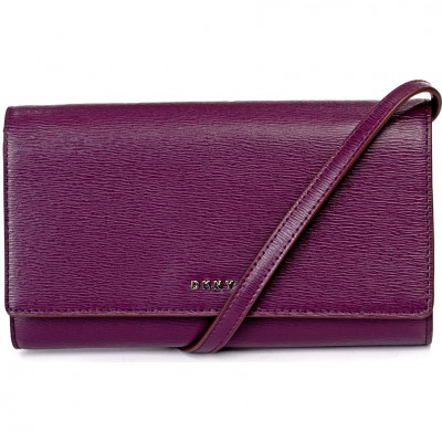 Кошелёк женский Donna Karan R8353622 brinjal bryant-wallet on a s