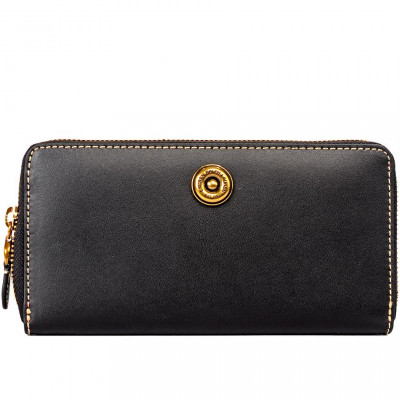 Кошелёк женский Lauren Ralph Lauren LR432694024001 black/crimson wallet