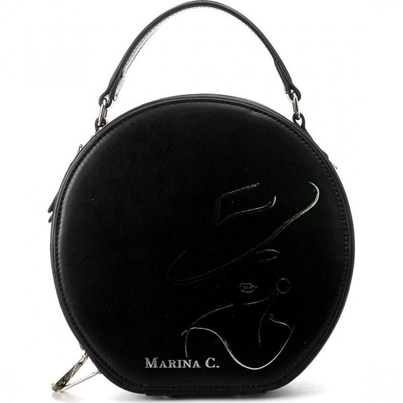 Сумка женская Marina Creazioni B2892 00482 LAM. nausica nero+st.482+lam