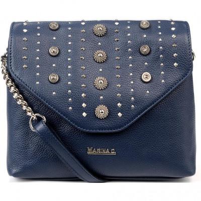 Сумка-клатч женская Marina Creazioni B4552 pegaso jeans+nk+fod.nera