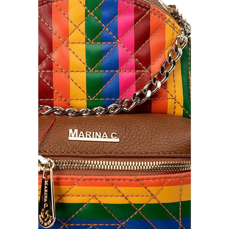 Сумка-рюкзак женская Marina Creazioni B399100474TRP1100760 vit.bass bianco a+t
