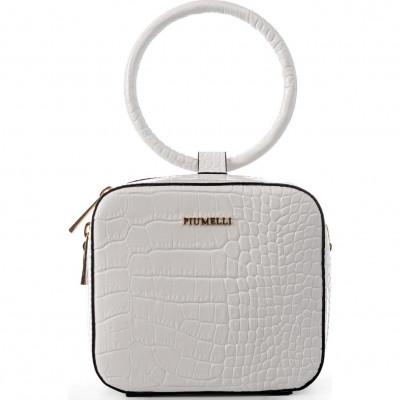 Сумка-клатч женская Piumelli Dublin L00 white
