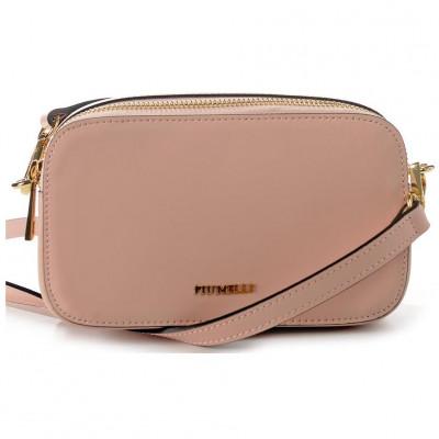 Сумка-клатч женская Piumelli Moscow leather L105 baby pink