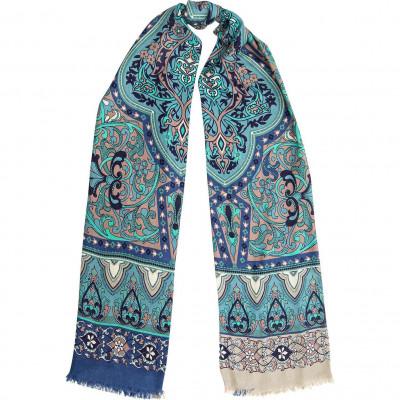 Палантин женский Eleganzza S43-0797-14 шерсть+шелк 70х180