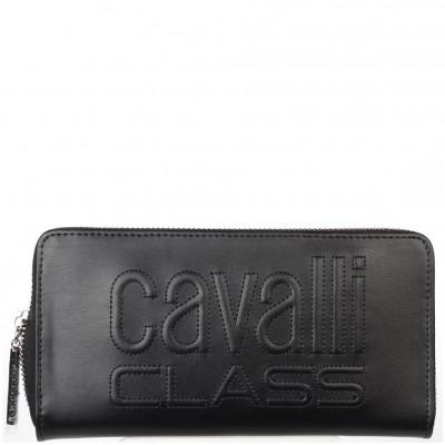 Кошелёк женский Cavalli Class C92PWCED1923999 black w/zip Viviane 192