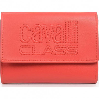 Кошелёк женский Cavalli Class C92PWCED7603060 red w/zipper and cc Vivi