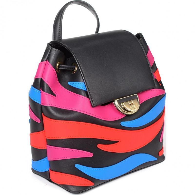 Сумка-рюкзак женская Cavalli Class C92PWCS70075000 multicolor Jeannine 007