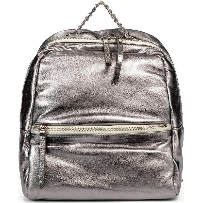 Сумка-рюкзак женская Gianni Chiarini ZN 7401 SUPERSOFT LM acciaio