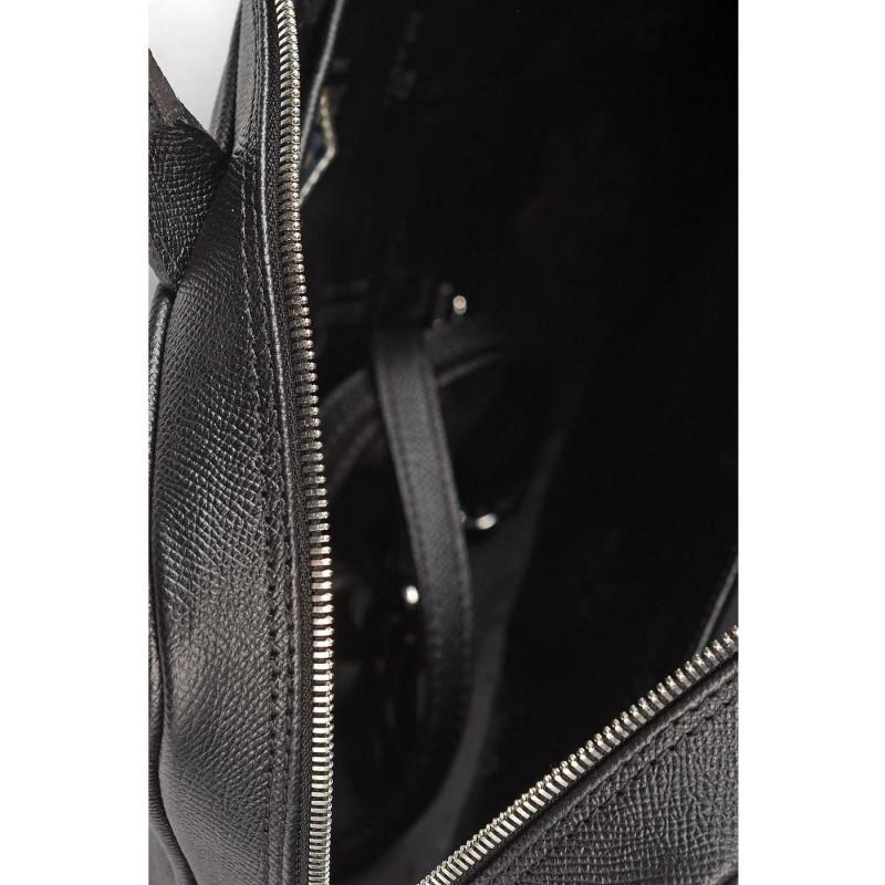 Сумка женская Marina Creazioni B4712 00496 palmellato nero+nausica nera