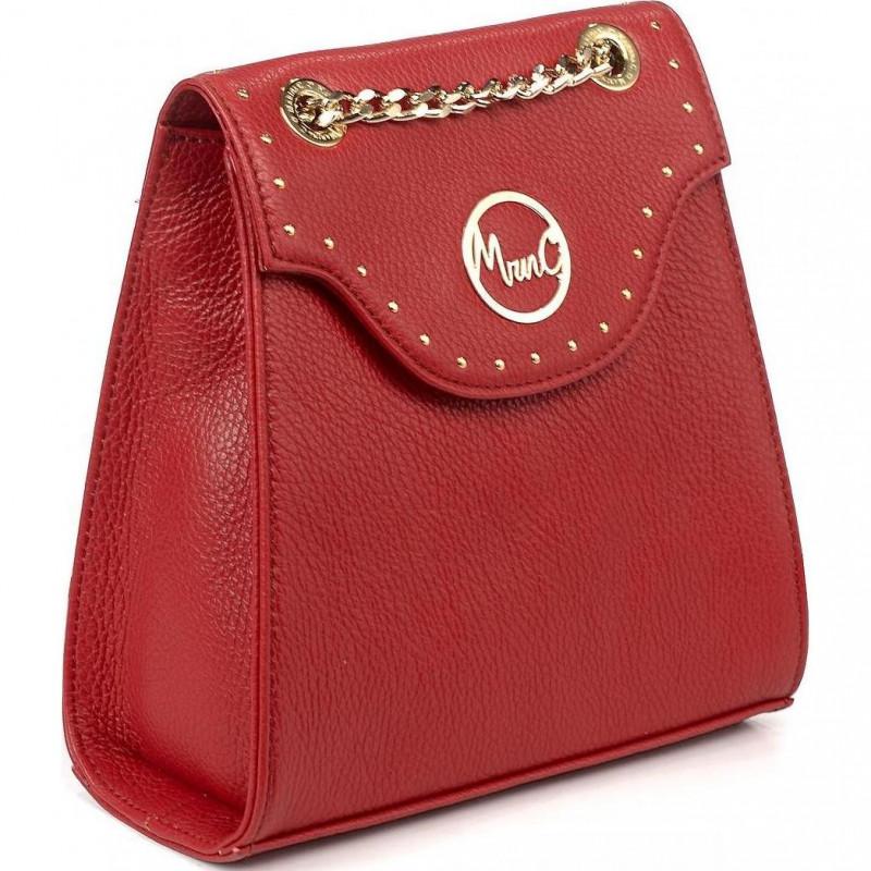 Сумка-рюкзак женская Marina Creazioni B4662 X935 MRIV cervo rosso d08+oro/pla+