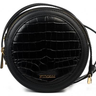 Сумка-клатч женская Piumelli Pansy cocco S black
