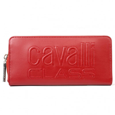Кошелёк женский Cavalli Class C93PWCED1923062 dark red w/zip Viviane 1