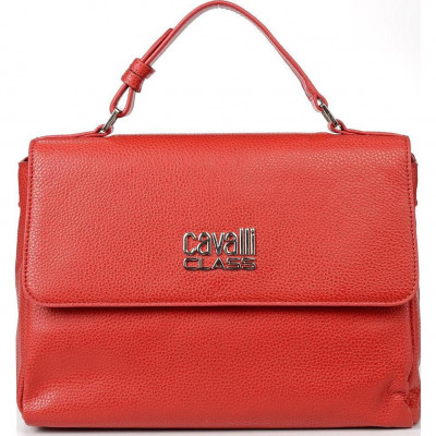 Сумка женская Cavalli Class C93PWCD20022062 dark red Ruby Lettering