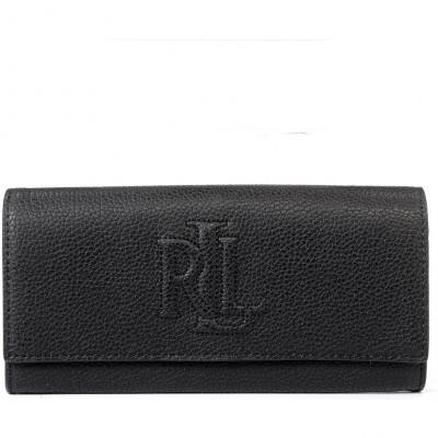 Кошелёк женский Lauren Ralph Lauren LR432757554001 black wallet