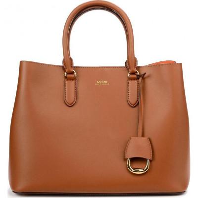 Сумка женская Lauren Ralph Lauren LR431697680026 brown satchel