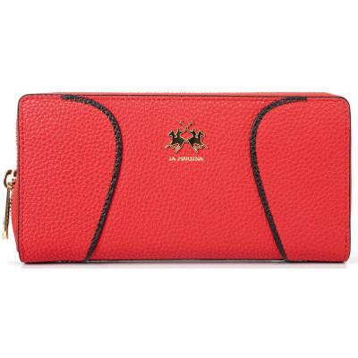 Кошелёк женский La Martina LM41W007P0004 true red wallet MARINA