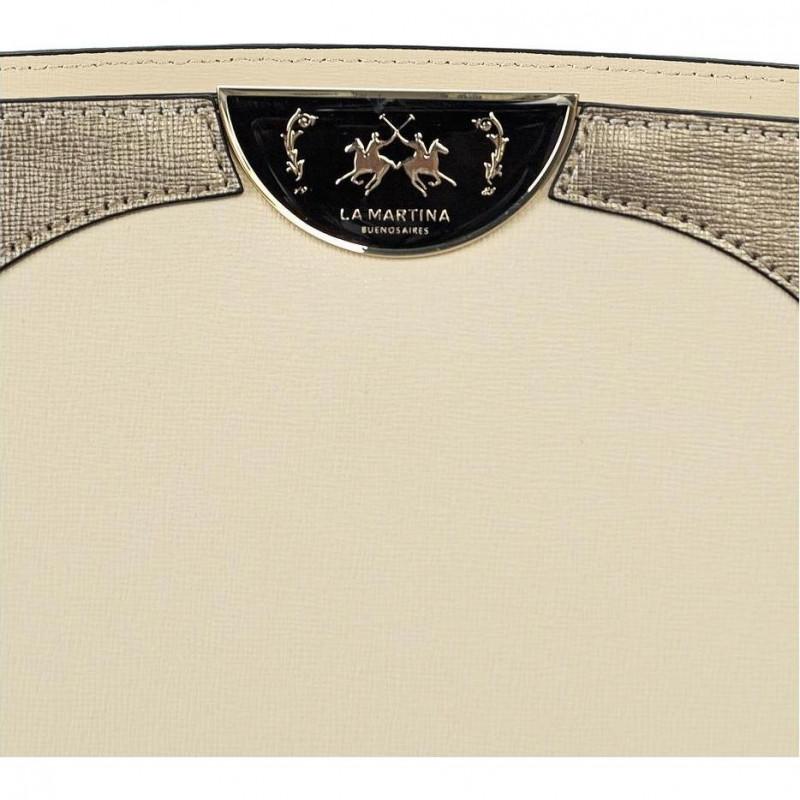 Сумка женская La Martina LM41W420P0041 beige/acc FRESIA