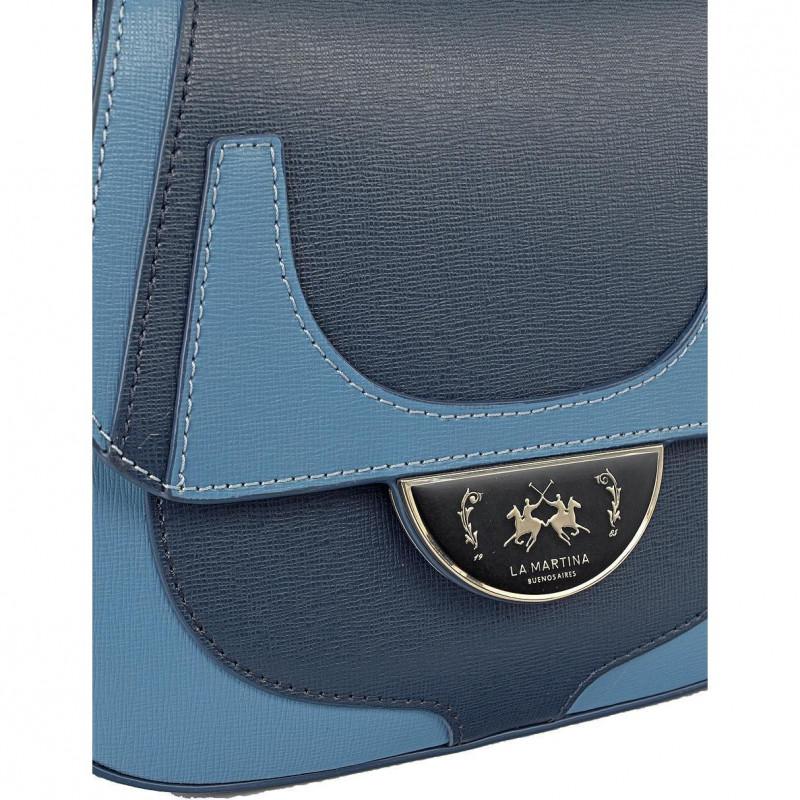 Сумка-клатч женская La Martina LM41W422P0041 blue/light blue FRESIA