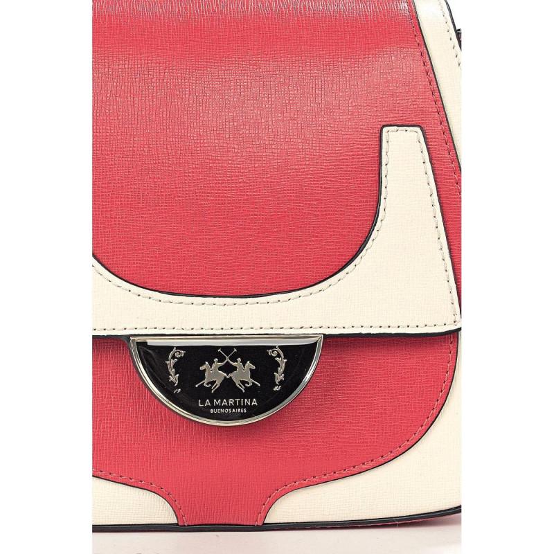 Сумка-клатч женская La Martina LM41W422P0041 red/beige FRESIA