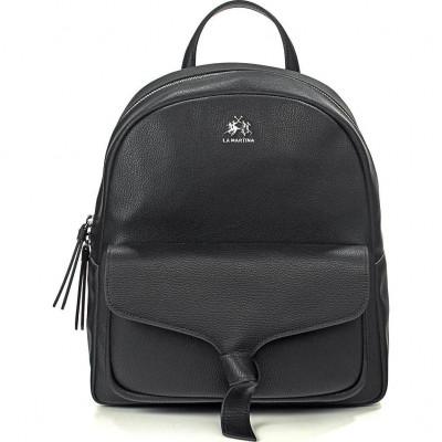 Сумка-рюкзак женская La Martina LM41W456P0033 black SOLANA