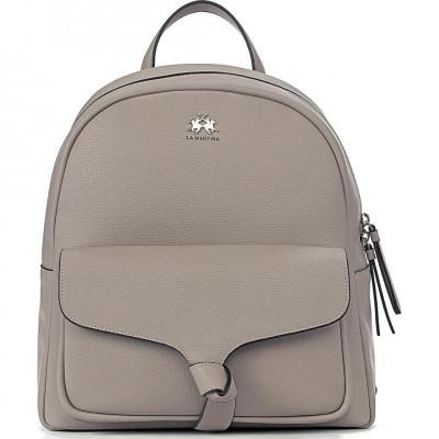 Сумка-рюкзак женская La Martina LM41W456P0033 neutral grey SOLANA