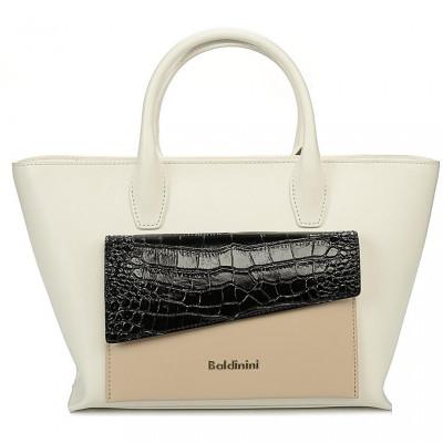 Сумка женская Baldinini G2APWG990032T71 white/black/beige Daily