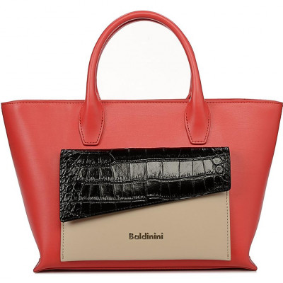 Сумка женская Baldinini G2APWG990032T72 red/black/beige Daily Gl