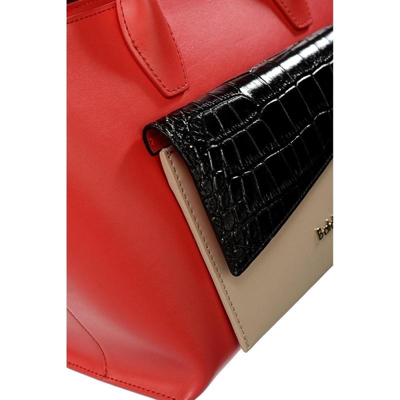 Сумка женская Baldinini G2APWG990032T72 red/black/beige Daily Gl