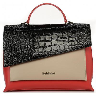 Сумка женская Baldinini G2APWG990042T72 red/black/beige Daily Gl