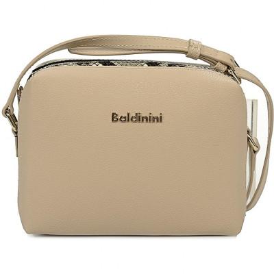 Сумка-клатч женская Baldinini G2APWG3A0012B64 beige/white Claudia 001