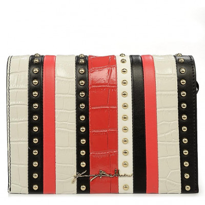 Сумка-клатч женская Baldinini G2APWG3M0052T21 black/white/red Elisa 00